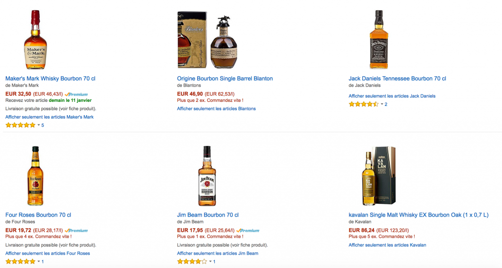 meilleur whisky bourbon