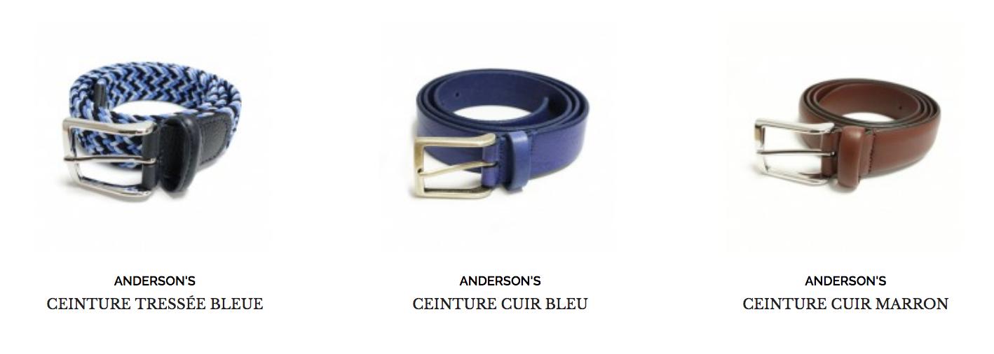 ceinture anderson's