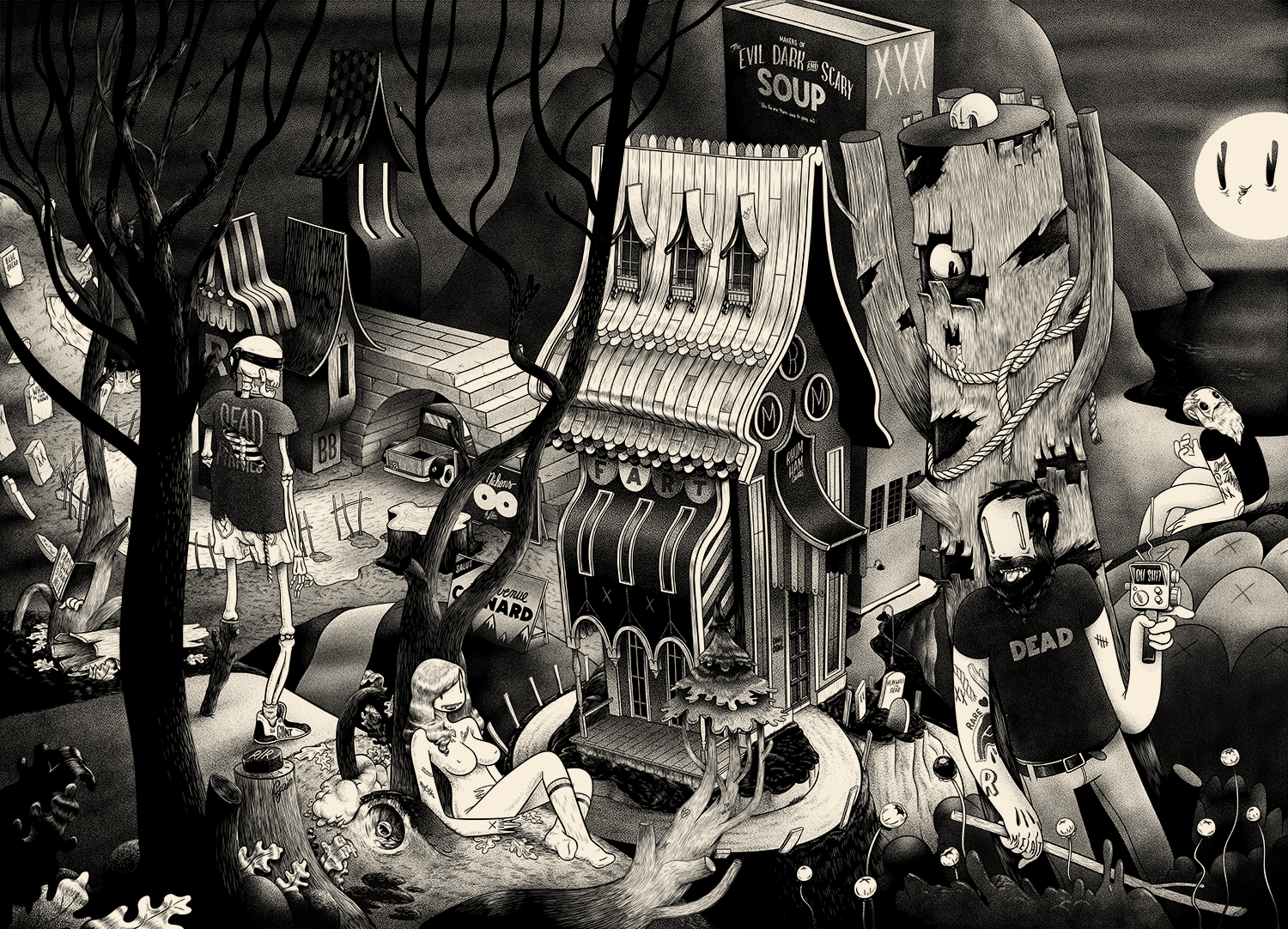 Mcbess Horror Picture Show