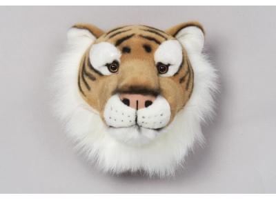 peluche trophee de chasse tigre