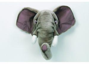 peluche trophee de chasse elephant