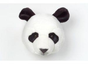 peluche trophee de chasse panda