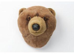 peluche trophee de chasse ourse