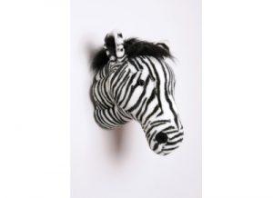 peluche trophee de chasse zebre