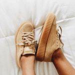 sneakers Rihanna et les Creepers Puma