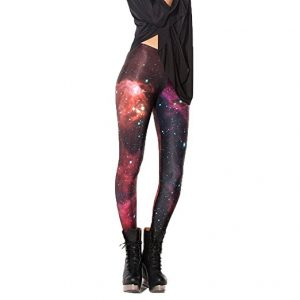 legging galaxy rouge