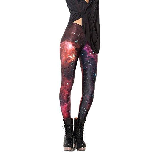 legging galaxy rouge