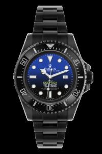 rolex deepsea blue black