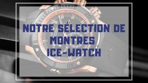montre ice watch pas cher