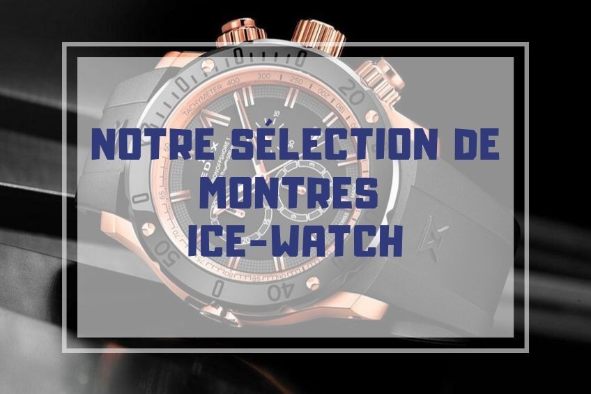 montre ice watch pas cher