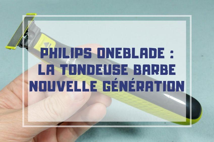 test et avis philips oneblade pas cher