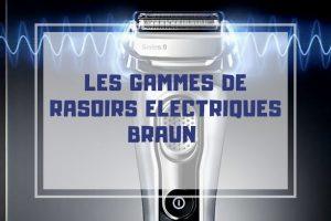 presentation rasoir electrique braun promo