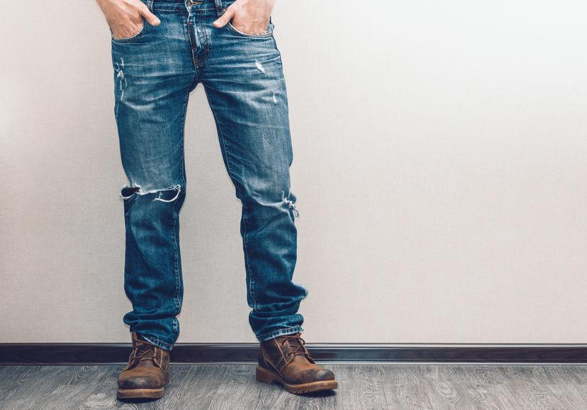 facon de porter jean homme