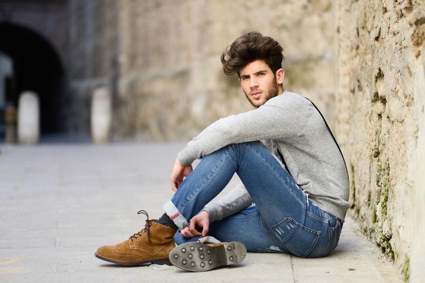 porter jean homme
